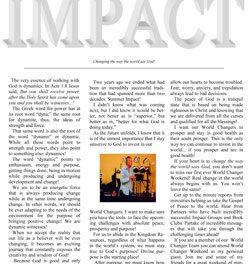 Impact Magazine – March 2009
