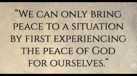 Discover the prerequisite for living in peace.