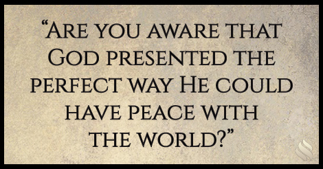 God wants you to be at peace.
