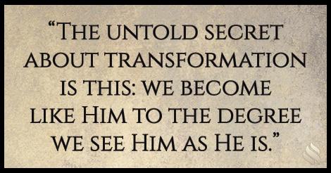 'Want a Supernatural Transformation?