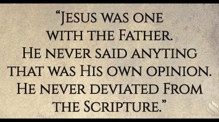 How did Jesus give us the glory of God?