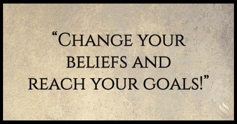 Change your beliefs and reach your goals!