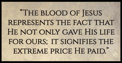 What does it mean to draw near to God by the blood of Jesus?