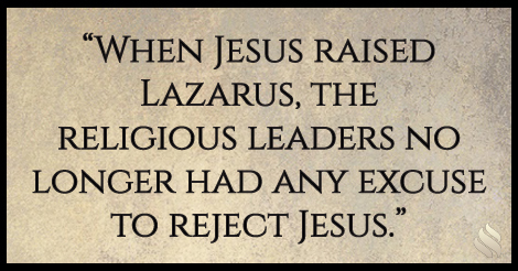 Why did Jesus wait three days to raise Lazarus from the dead?