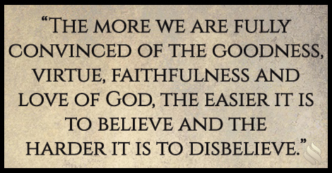 It seems like nothing I do actually strengthens my faith!