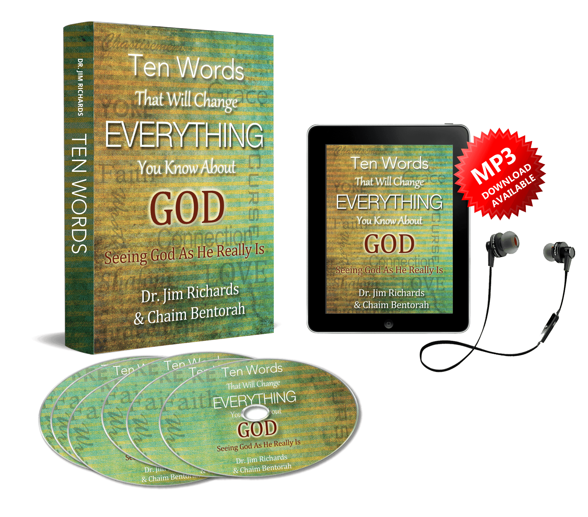 CD/MP3 - Book/eBook BUNDLE: Ten Words That Will Change Everything You Know  About God